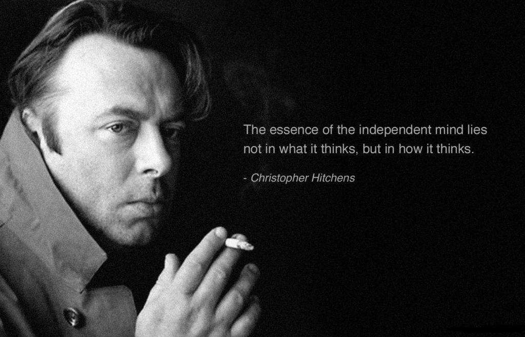Christopher Hitchens - independent mind