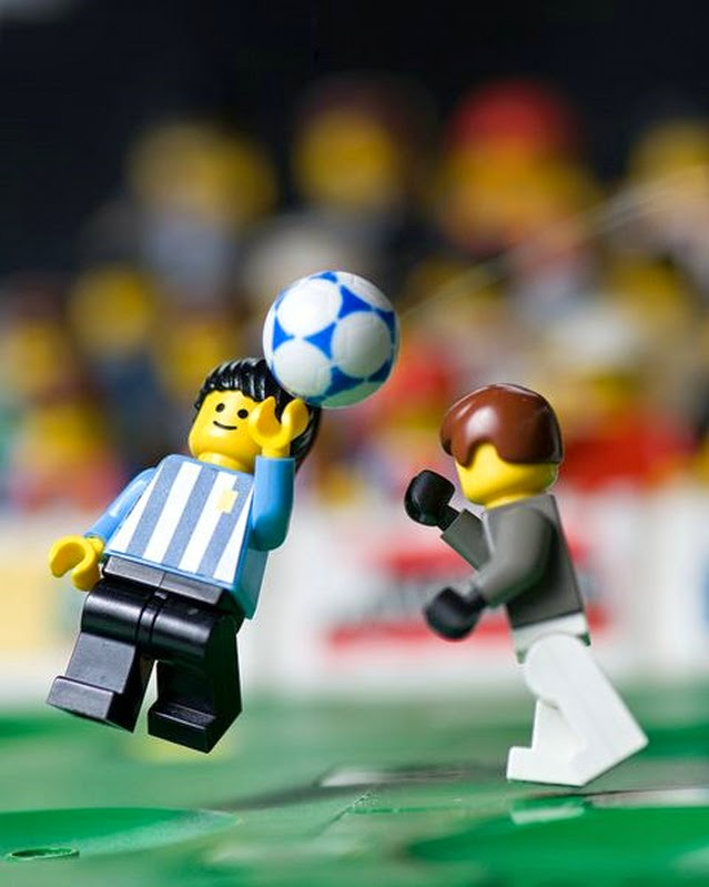 Football soccer - Lego