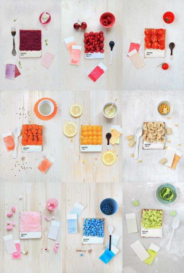 pantone food design