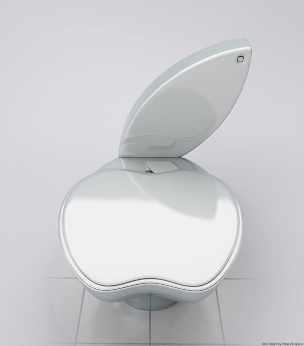 iPoo - unofficial apple toilet