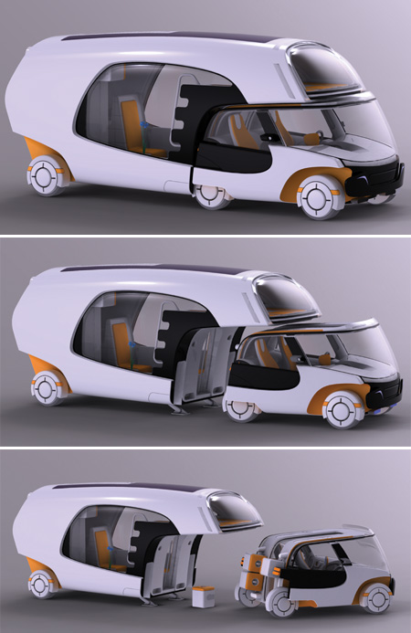 Colim - concept car & caravan