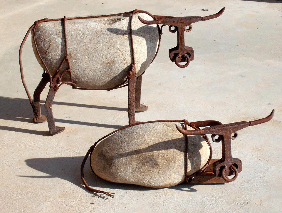 Recycled Bulls by John V. Wilhelm