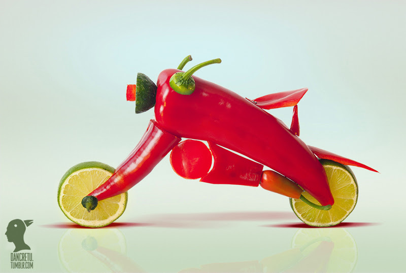 Moto - Pepper - Dancretu sculptures