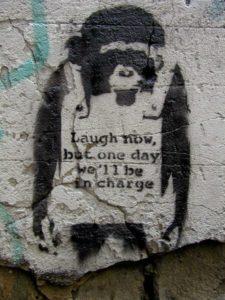 laugh now... street art