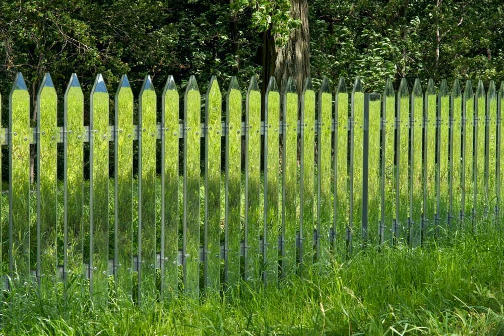 Mirror Fence - Alyson Shotz (2003)