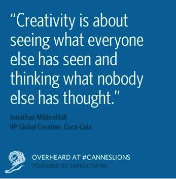 """Quote """"Creativity"""""""