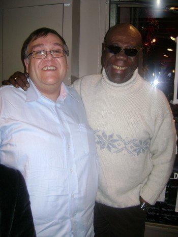 Avec Manu Dibango