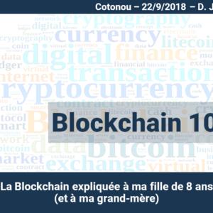 Blockchain 101 - Cotonou Meetup