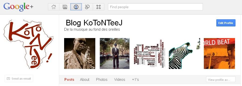 Bannière KoToNTeeJ sur Google+