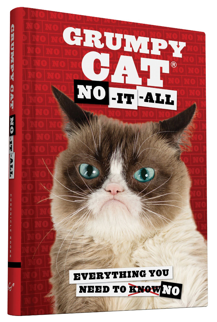 Grumpy Cat - no it all (book)