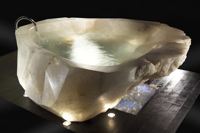 Crystal Rock Bathtub Baldi