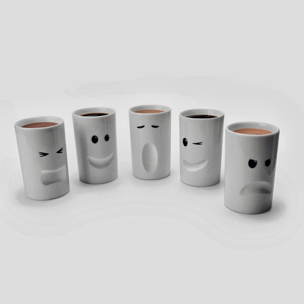 all 5 mood mugs