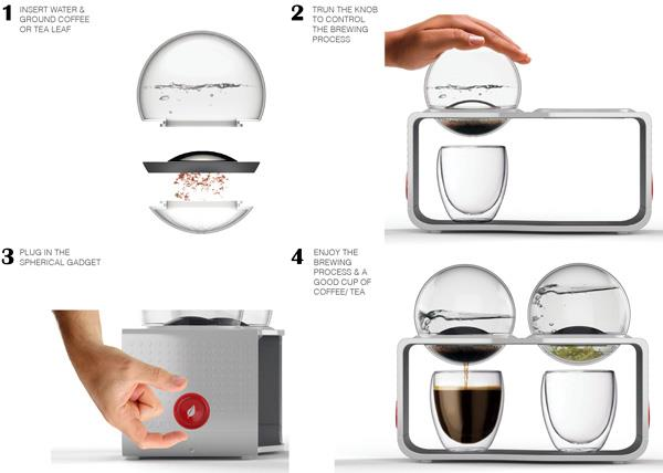 bodum coffee tea maker 3
