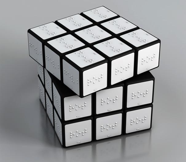 braille rubik's cube 2