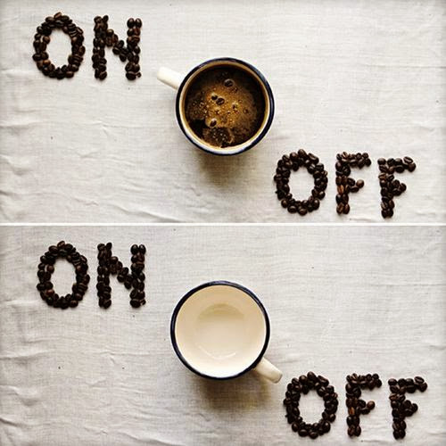 coffee - on / off