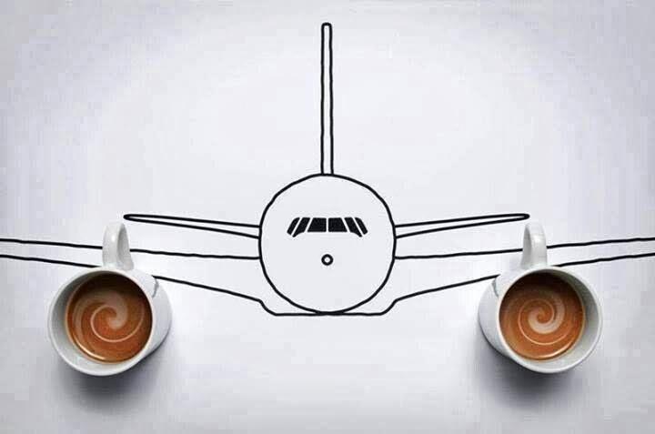coffee - plane