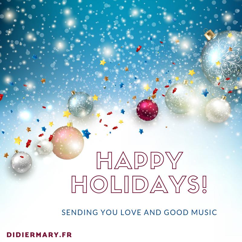 happy holidays - bonne année 2019