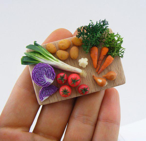 miniature food artwork 6