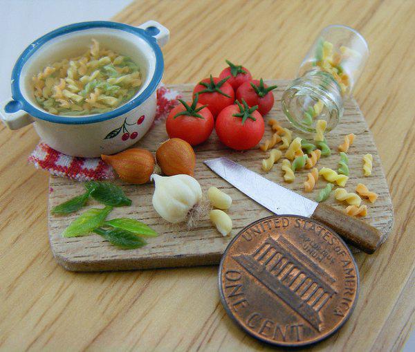 miniature food artwork 1