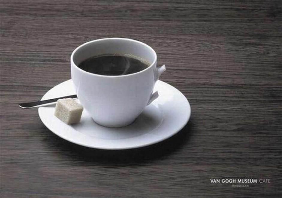 van gogh - museum - cafe