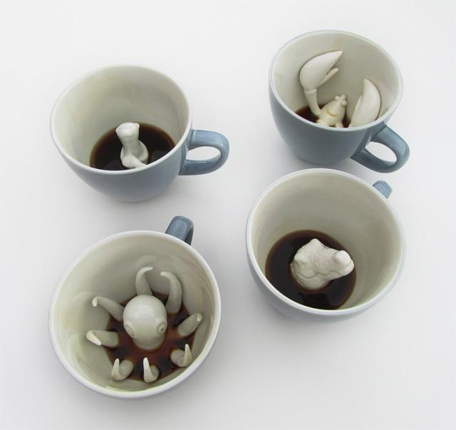 yumi coffee cup creatures