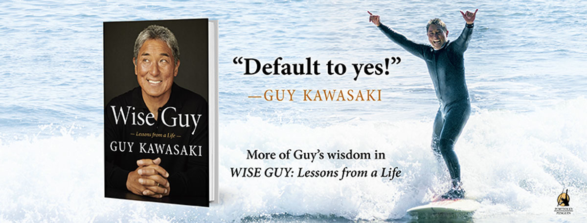 Banner Wise Guy Kawasaki