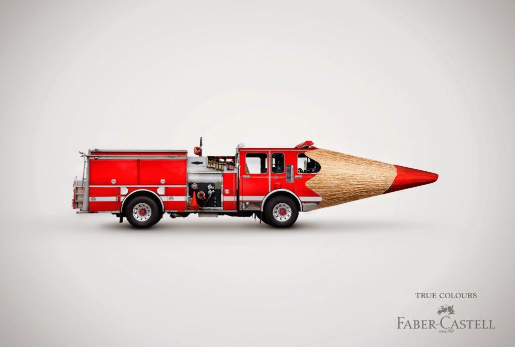 Faber-Castell - True Colours - Firetruck