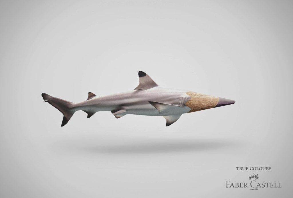 Faber-Castell - True Colours - Shark