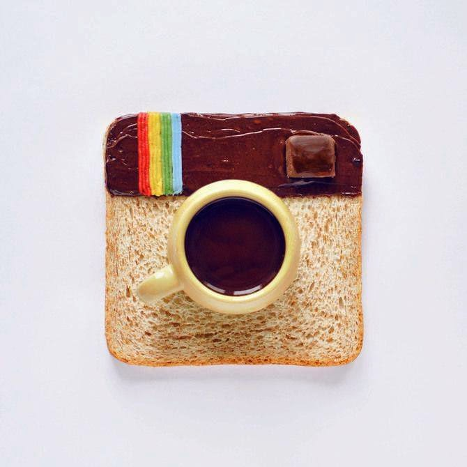 Fun design for Instagram and coffeetime