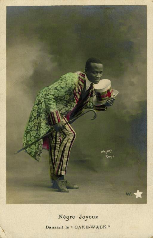"Nègre Joyeux dansant le ""Cakewalk"" - Black Europe"