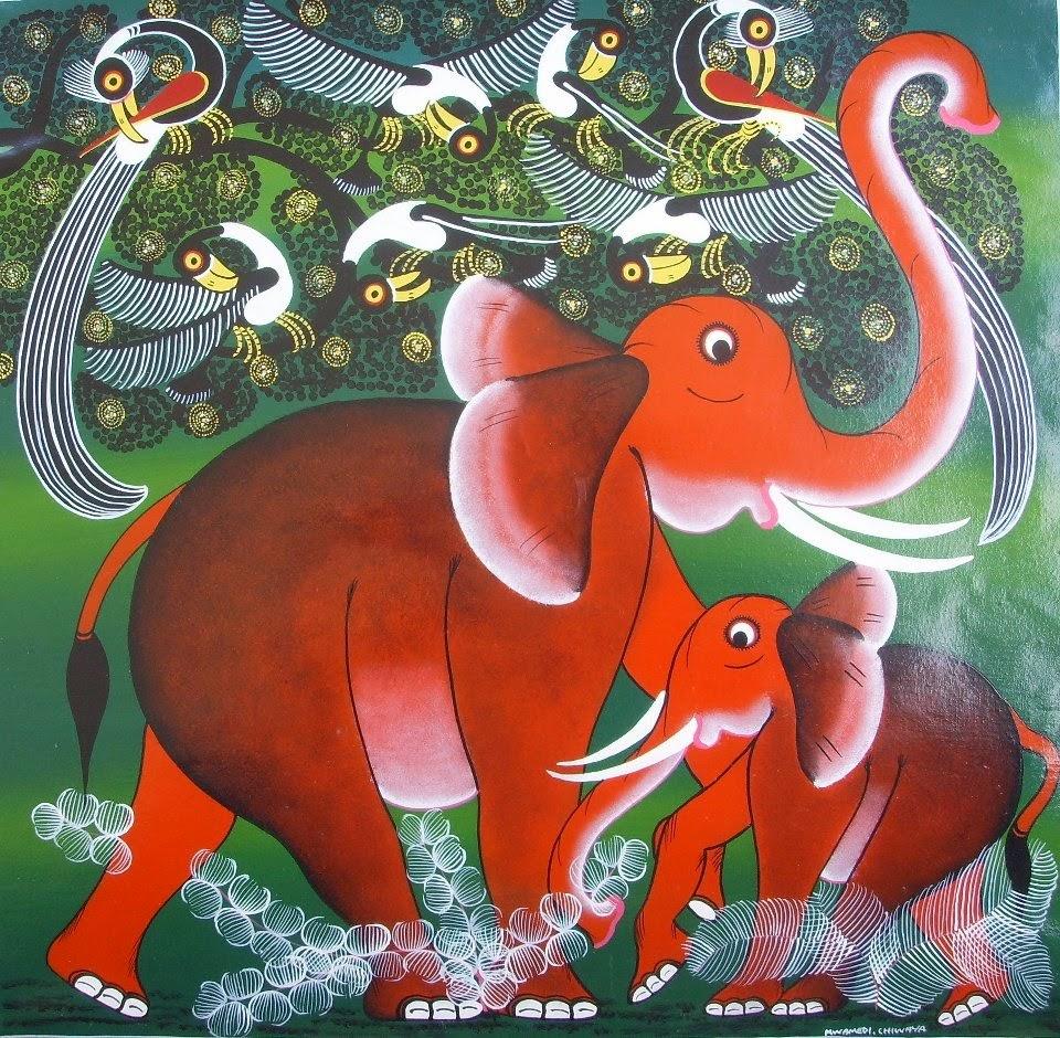 tinga tinga - elephants