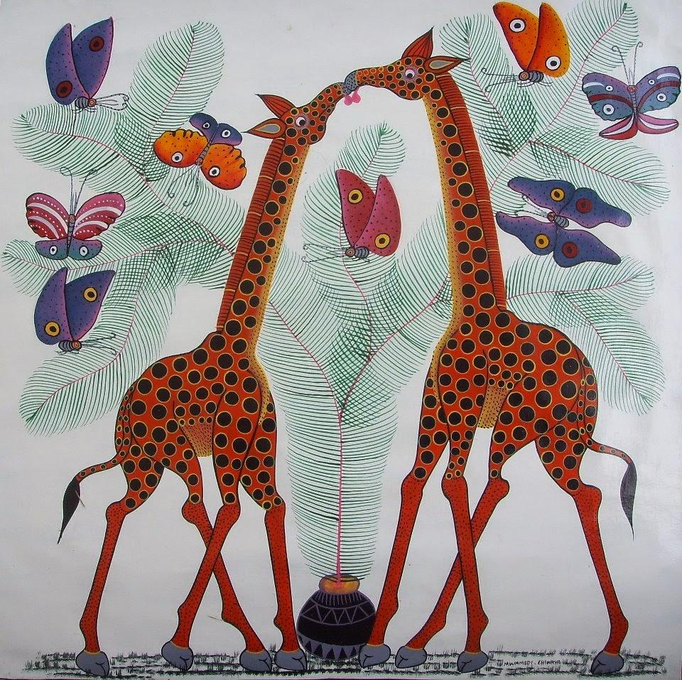 tinga tinga - girafes