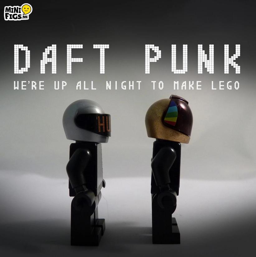 minifigs lego - Daft Punk