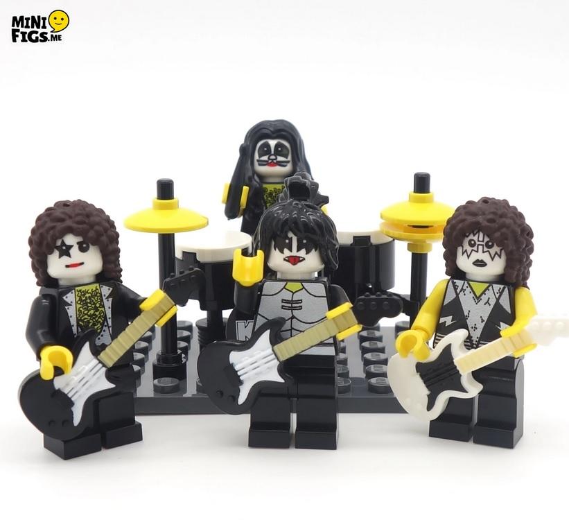 minifigs lego - KISS