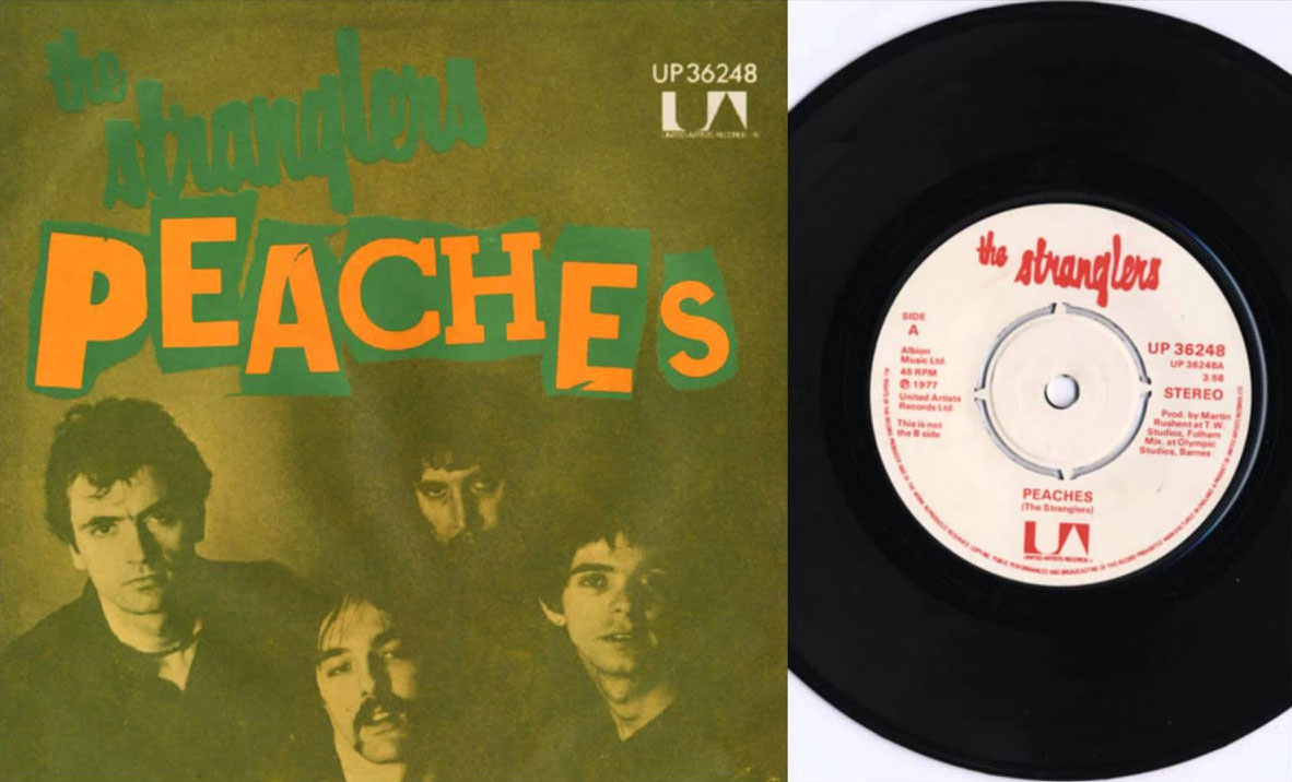 Peaches - the Stranglers - vinyl