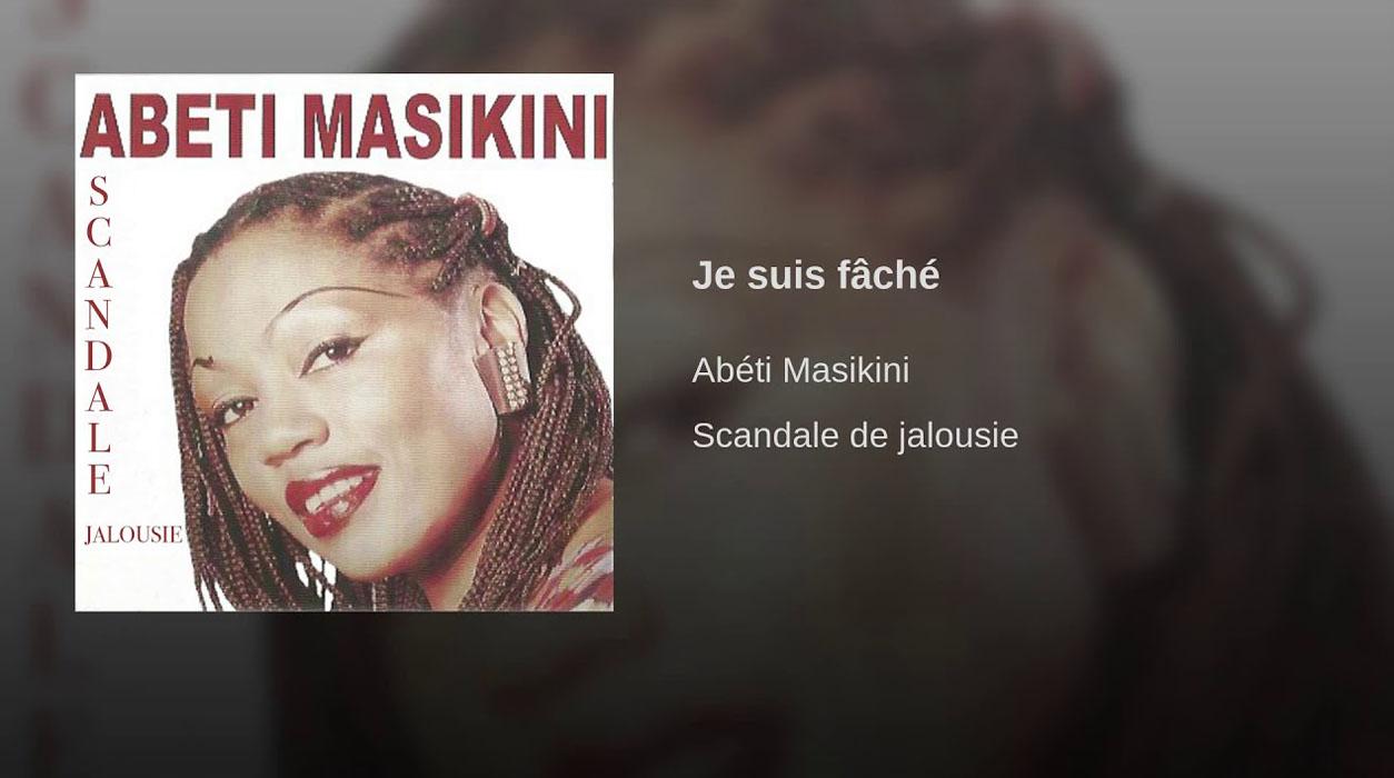 Abeti Masikini - Georges Seba - Je suis fâché