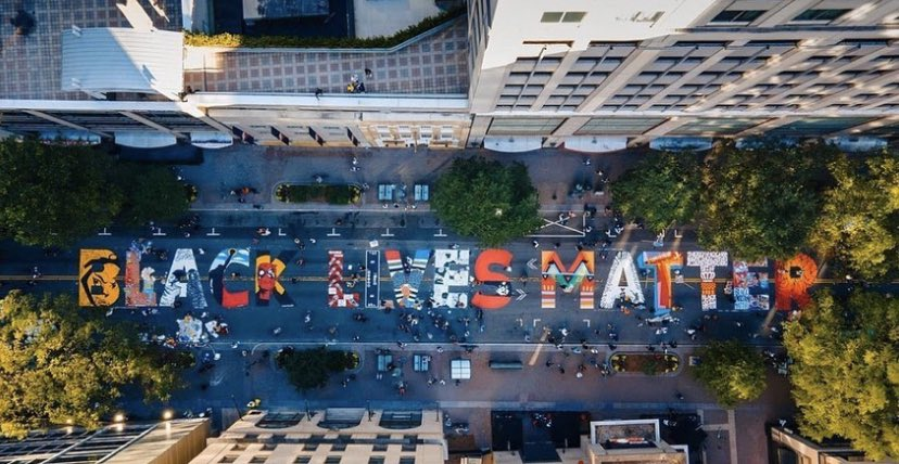 #BlackLivesMatter StreetArt