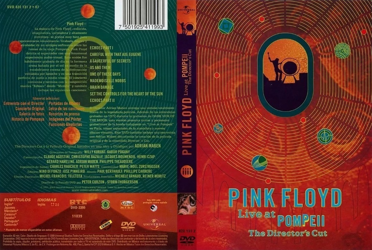 Pink Floyd - Live @ Pompeii - Director's cut
