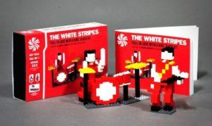 White Stripes in Lego