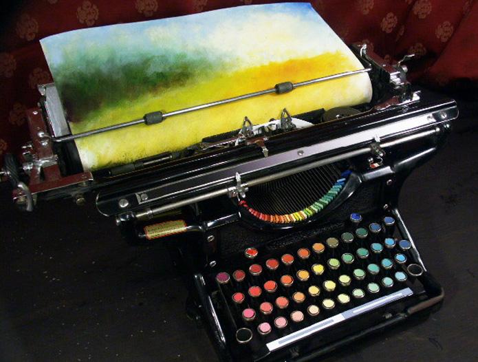 Chromatic Typewriter - 1