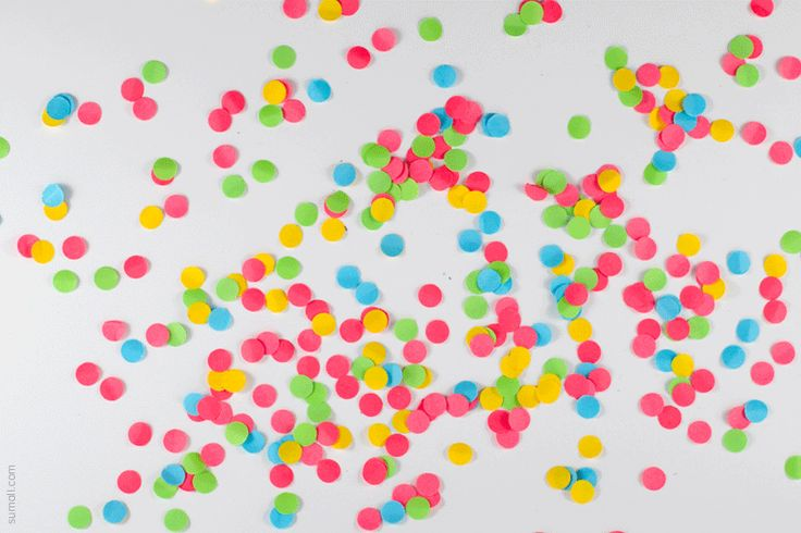Confettis (colours)