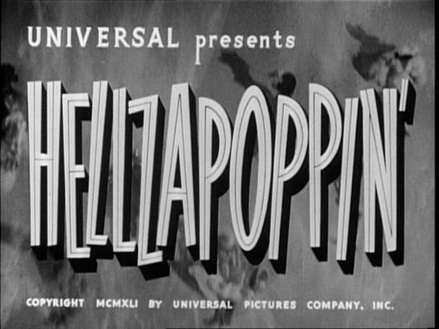 Helzapoppin - title