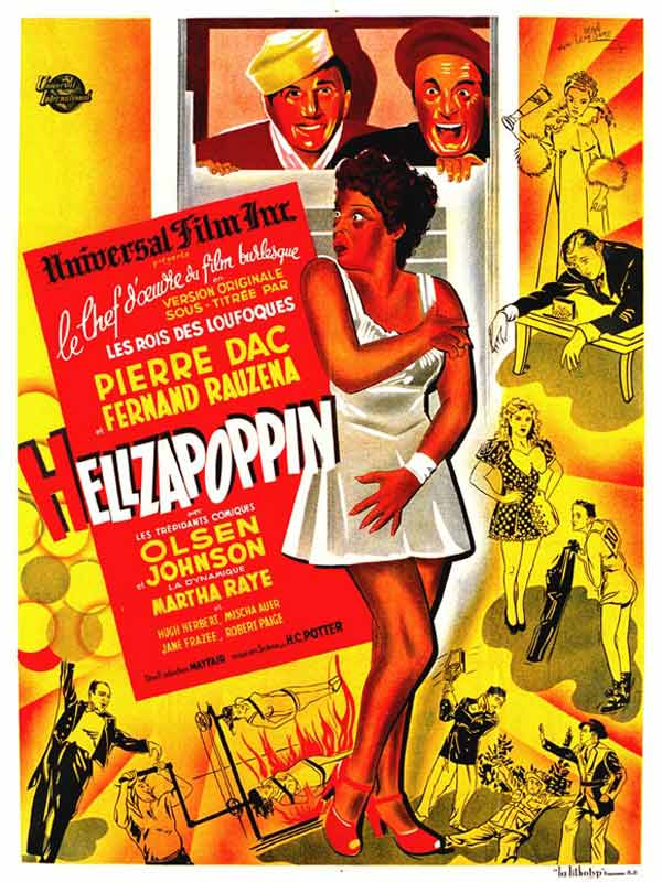 Hellzapoppin - couverture DVD France