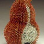 colored pencils sculptures 1-2
