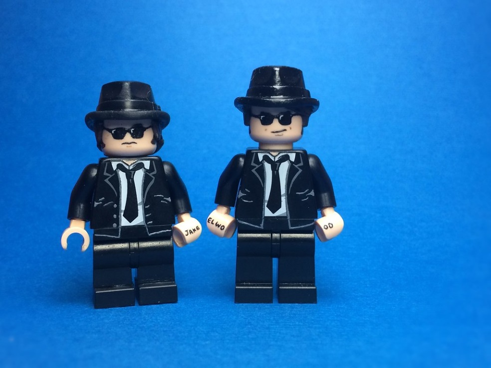 Custom Lego Blues Brothers (header car chase)