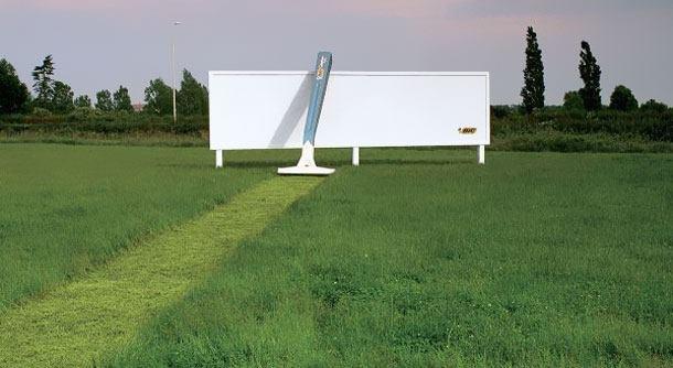 Creative ad - BIC razor