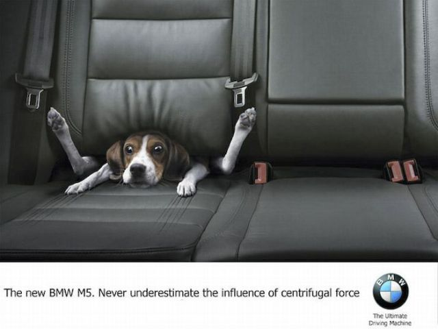 Creative ad - BMW
