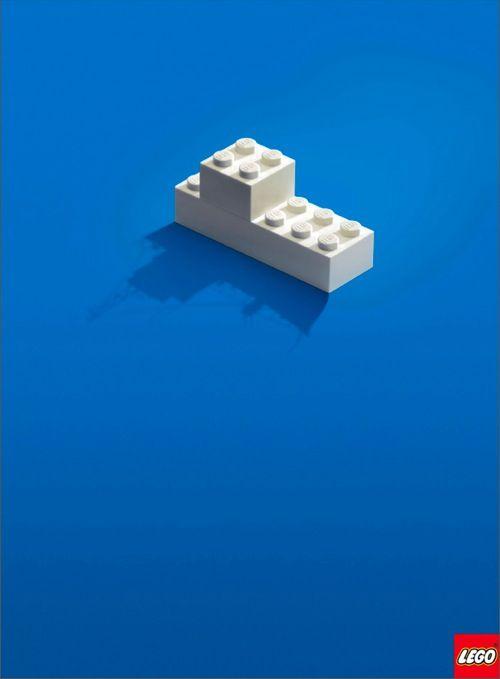 Lego minimalist ad