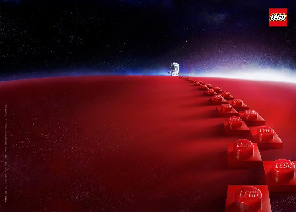 Lego - steps ad