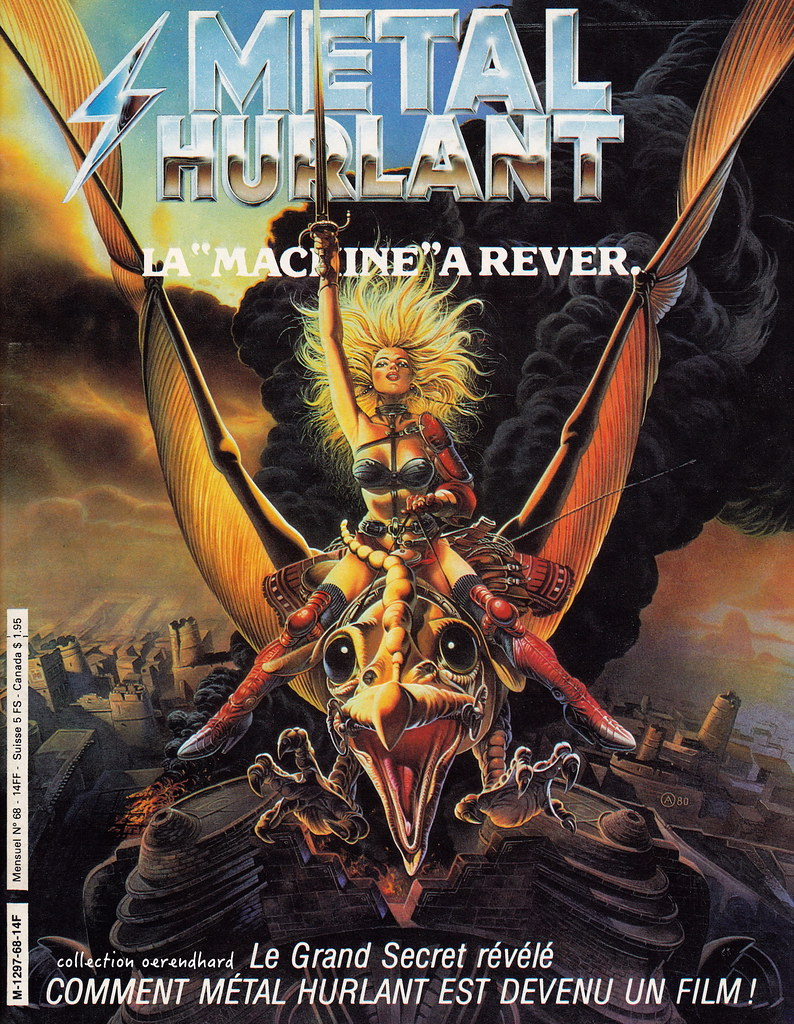 Metal Hurlant - couverture film